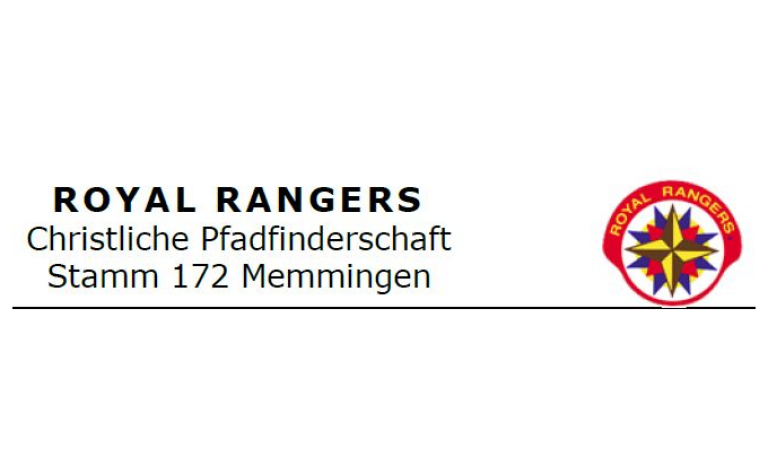 Royal Rangers, Christliche Pfadfinderschaft, Stamm 172 Memmingen