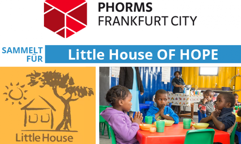 Phorms Frankfurt City sammelt für Little House OF HOPE