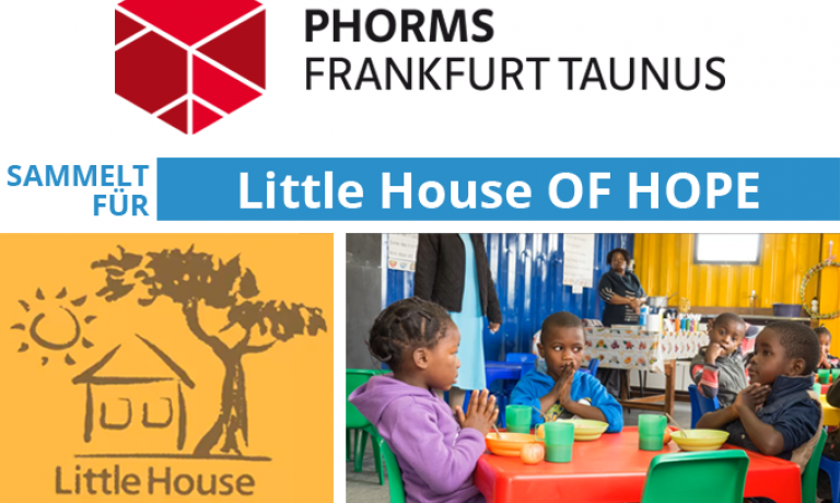 Phorms Taunus Campus sammelt für Little House OF HOPE